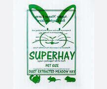 SuperHay Clear Poly Bag